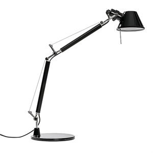 Artemide Tolomeo Micro Table Lamp Black