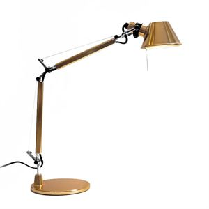 Artemide Tolomeo Micro Table Lamp Yellow Limited Edition