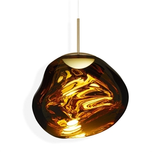 Tom Dixon Melt Lámpara Colgante LED Grande Dorado