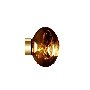 Tom Dixon Melt Surface Lámpara de Pared LED Pequeña Dorado