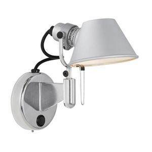 Artemide Tolomeo Micro Faretto Wall Lamp without switch