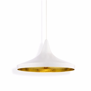 Tom Dixon Beat Pendant Wide White