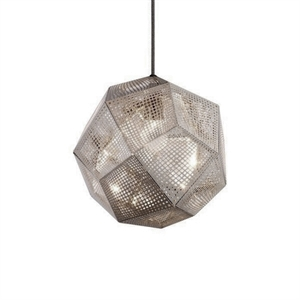 Tom Dixon Etch Lámpara Colgante Acero Inoxidable
