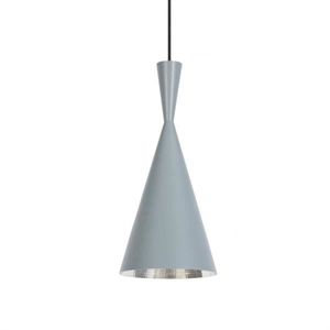 Tom Dixon Beat Tall Lámpara Colgante Gris