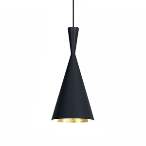 Tom Dixon Beat Tall Lámpara Colgante Negro